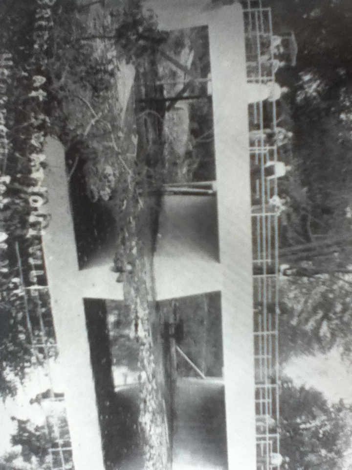 Residents on 1912 bridge