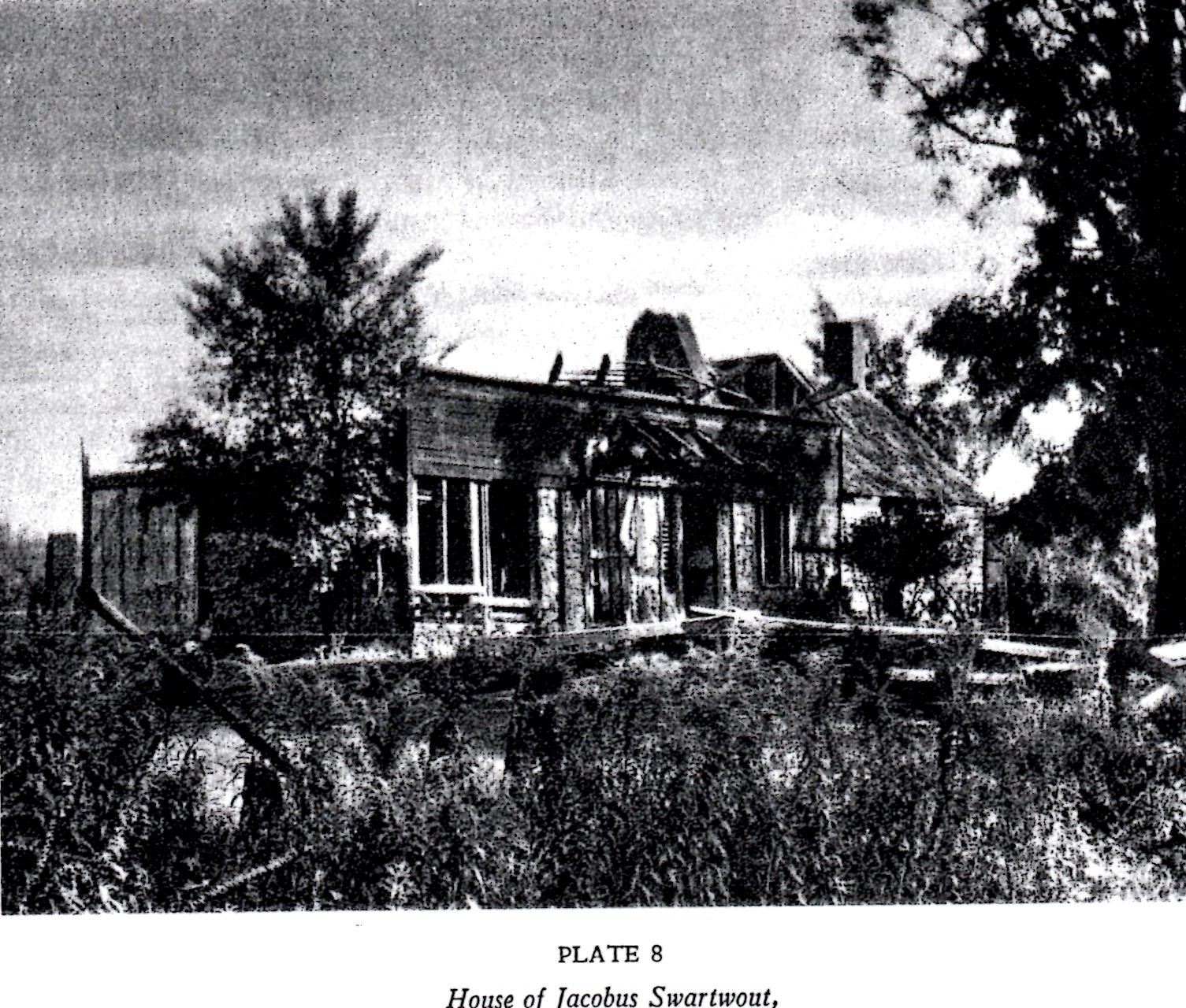 Ruins of First Swartwout House